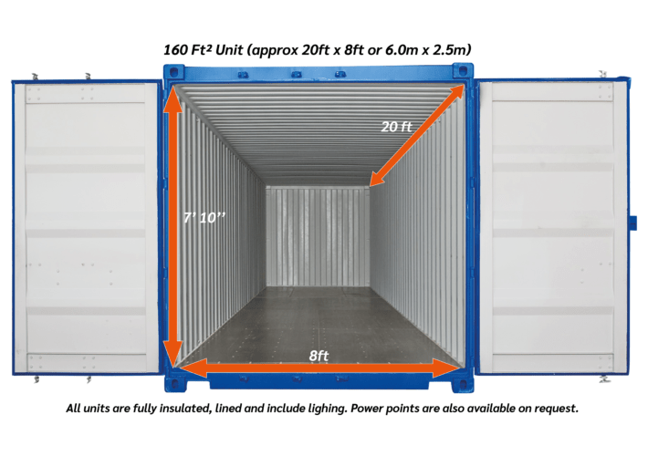160ftsq outdoor Storage unit 04 1 - xtra space self storage