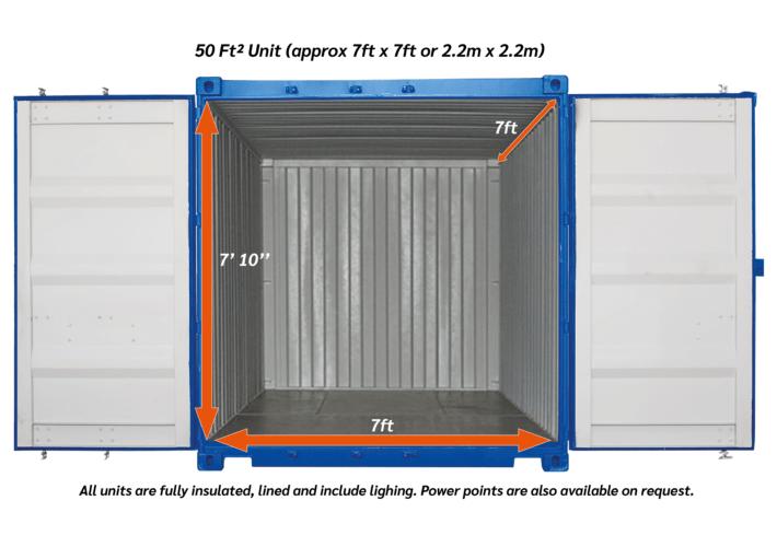 50ftsq outdoor Storage unit 01 01 1 - xtra space self storage
