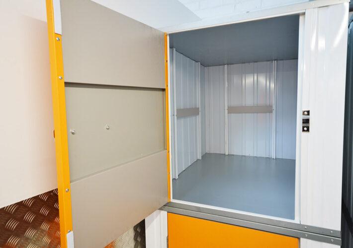 sizeguide 10sqft unit empty - xtra space self storage