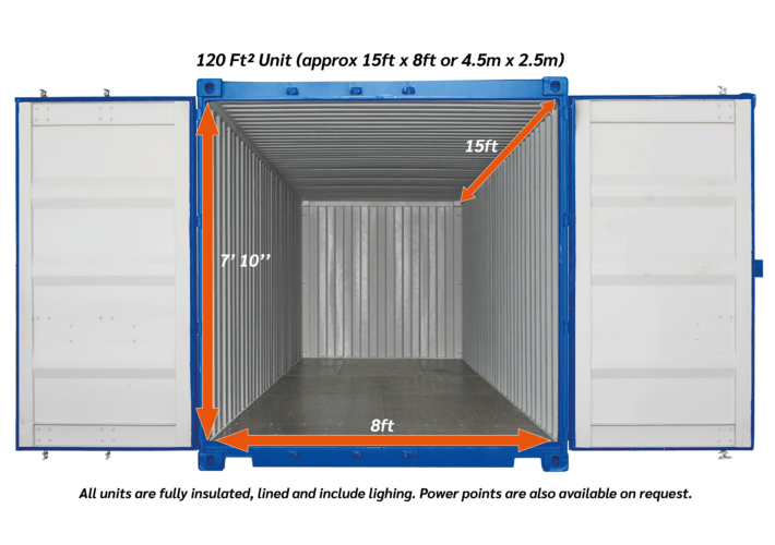 120ftsq outdoor Storage unit 03 1 - xtra space self storage