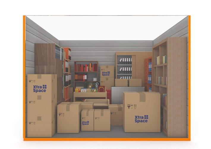 Graphic 125sqft - xtra space self storage