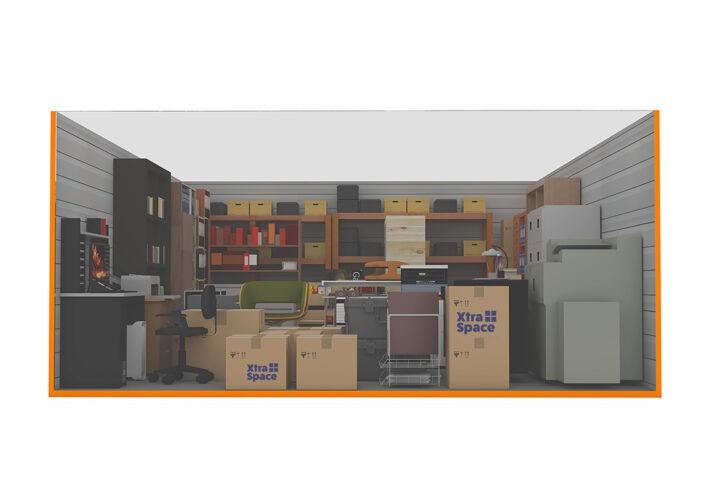 Graphic 200sqft - xtra space self storage