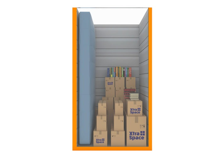 Graphic 25sqft - xtra space self storage