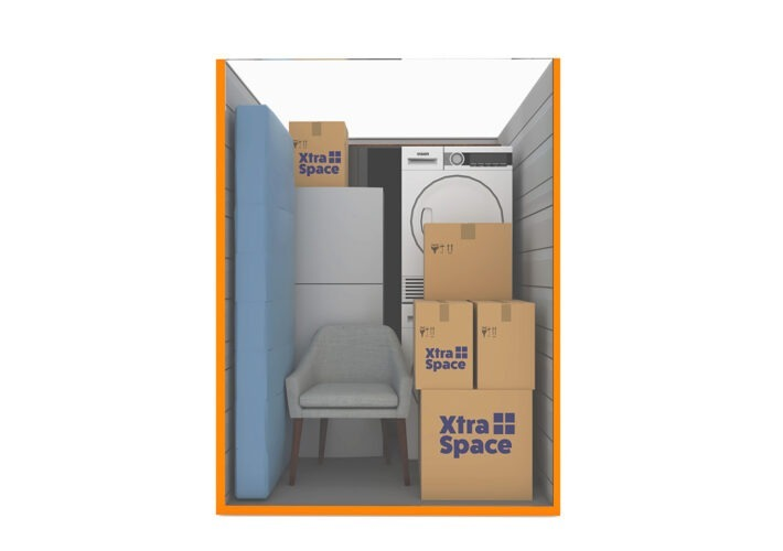 Graphic 35sqft - xtra space self storage