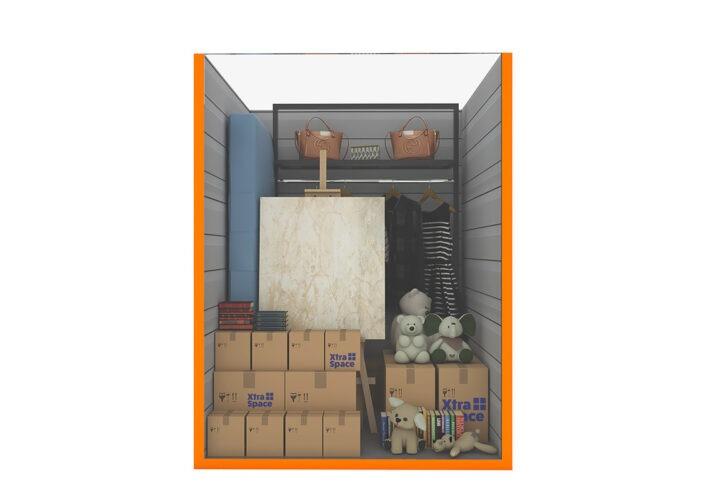 Graphic 50sqft - xtra space self storage