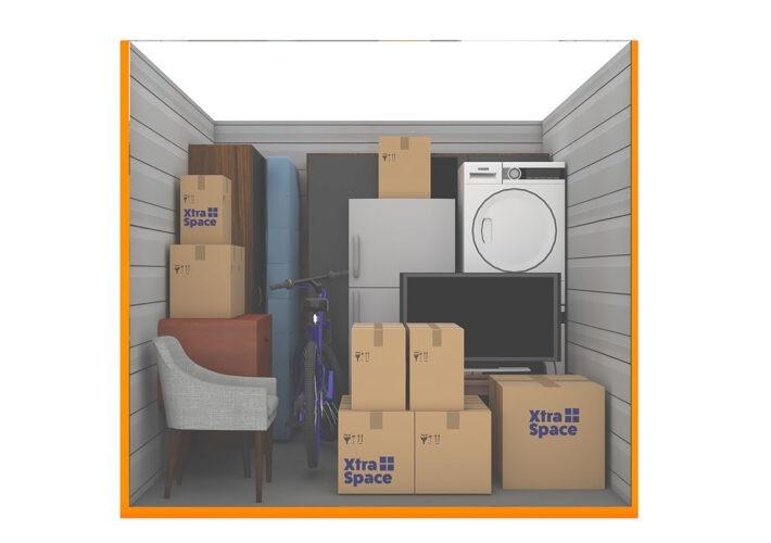 Graphic 75sqft - xtra space self storage